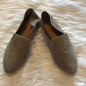 Halogen Womens Loafer Size 6 1/2 Gray